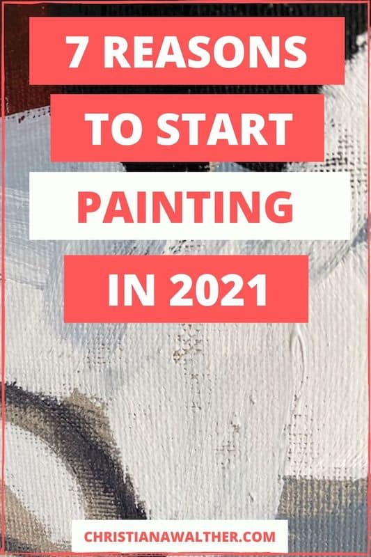 reasons to start painting