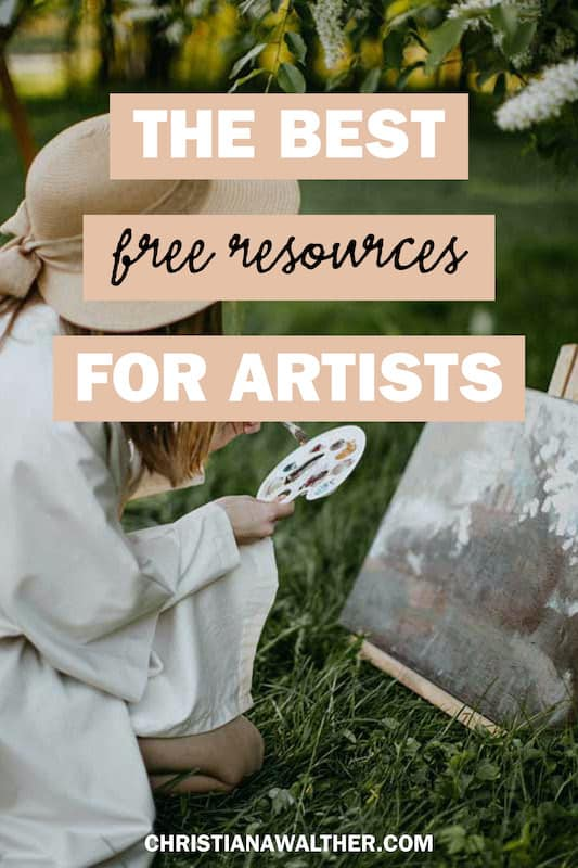 the best free resources for artists