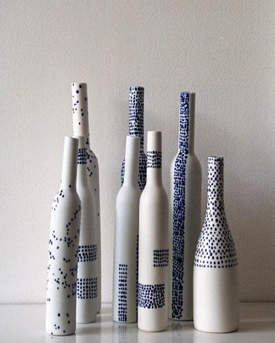 glass bottle painting ideas